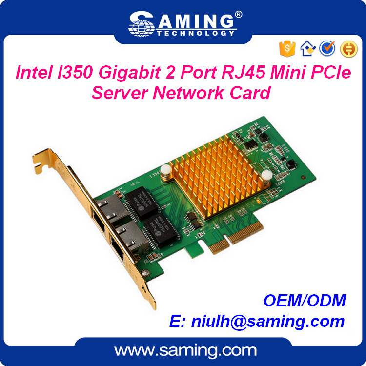 I350Chip 2port gigabit server network interface card(NIC)/ lan card