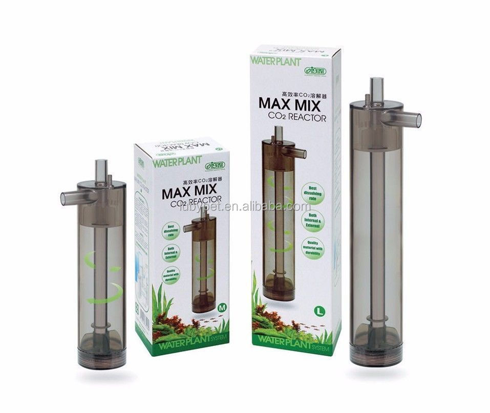 Max Mix CO2 Reactor Diffuser Equipment Aquatic Plant Moss Aquarium Tanks I-528/529