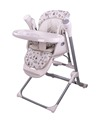 portable high chair with swing function and music (TY868C)