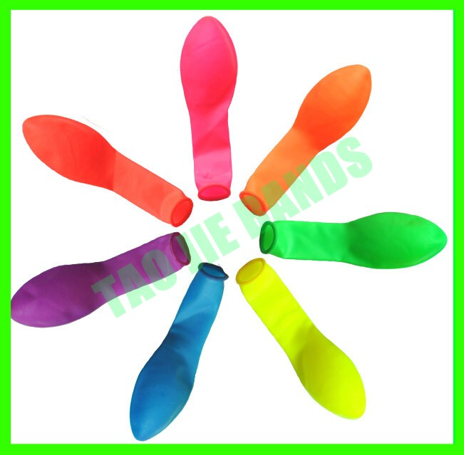 3 inches NEON Water bomb balloon,come with water nozzle