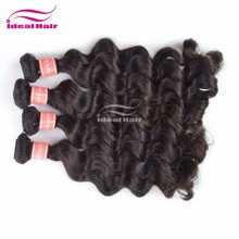 Factory natural 22 inch micro braiding hair, cheap 2g micro loop hair, unprocessed 4 way hair products