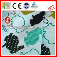 popular cotton novelty print fabric material wholesale