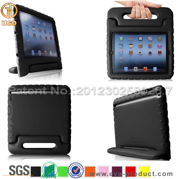 Kids friendly impact resistant tablet case for universal ipad case