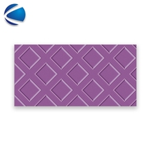 purples color kitchen wall tiles 3D inkjet printing ceramic tile turkey