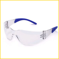 clear scratch resistant UV resistant rimless safety glasses