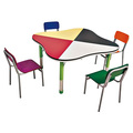 SF-39C Colourful Daycare Furniture Children Table And Chairs On Sale