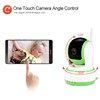 Best solution smart home security 360 degree camera with universal remote control