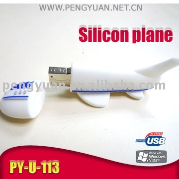 plane shape USB flash memory (PY-U-113)