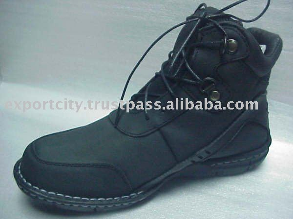 Men leather shoes leather footwear