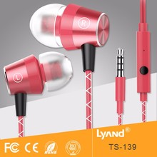 Consumer electronics colorful earphone bulk items headphones made in china