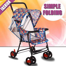 2016 Cheap price latest design light baby stroller, easy fold stroller for kids made in china