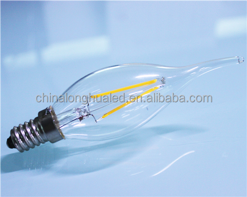 2w plastic LED Candle Light approved CE&ROHOS competitive price