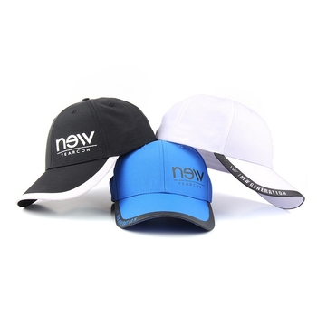 Shenzhen manufacturers microfiber quick dry baseball sports caps and hats custom logo