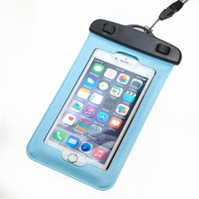 Fit for 5.8 Inches Waterproof Mobile Phone Touch Screen Case Dry Bag Cellphone Pouch for Xiaomi Redmi Note 3 for iphone