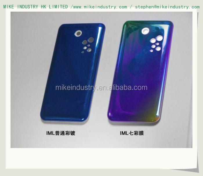 IMD printing Injection molding gel tpu sublimation phone case for BQ M5