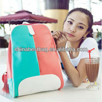 Best Selling Contrast color Girls Leisure Backpack