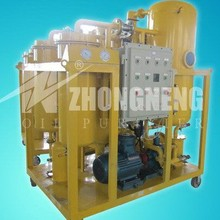 Used Lube Oil Vacuum Filtration Station
