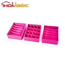 Hot promotional fashion designed socks and underwear storage boxes