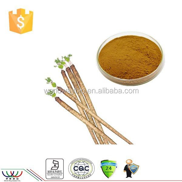 Natural and pure burdock root extract with 20% arctigenin by HPLC