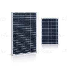 Prostar poly 25w 18v polysilicon solar panel for home lighting system