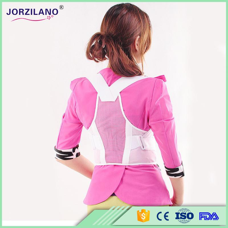 Best Jorzilano Women Adjustable Therapy Back Support Braces Posture Correction Shoulder Corrector for Fashion Health
