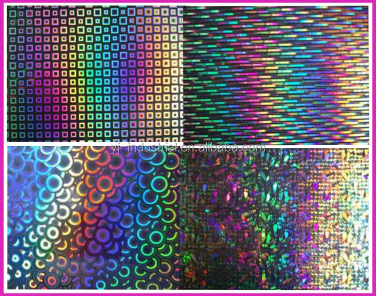bppp , PET holographic metallized film for packing