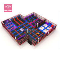 Commercial Trampoline Park Indoor Kids Jumping