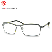 Free Form Green 942 Gun Lowest Price Laminated Acetate Thomas Trauth Non-Allergic eye glass frames for men