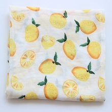 Wholesale Organic Cotton Fabric Unbleached Bamboo Muslin Swaddle