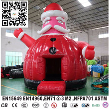 christmas gift decorations, new advertising products inflatable Santa Claus inflatable model