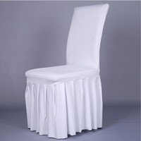 hot sale restaurant white chair cover and table cover