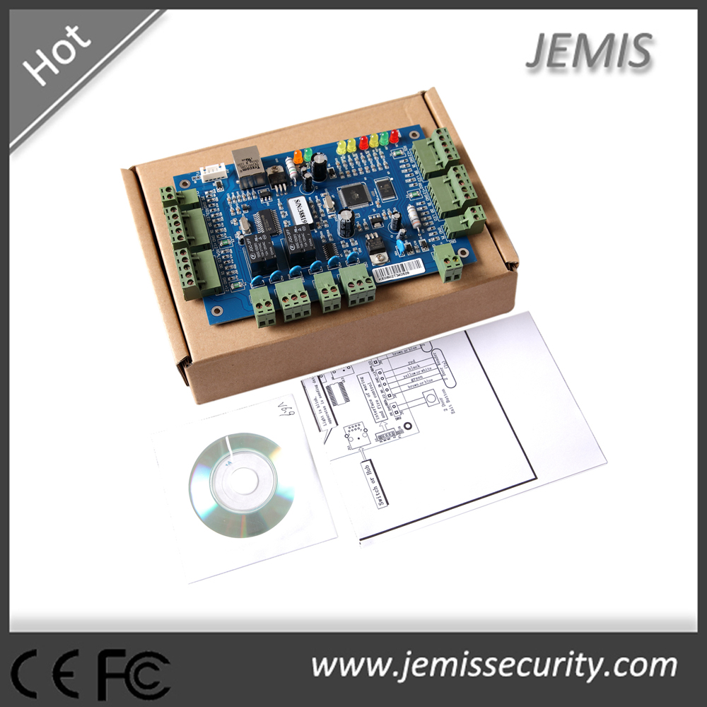 Blue color WEB single/double/four door RFID Card RS485 access control board