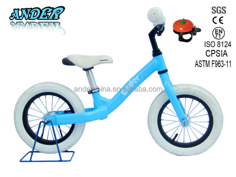 AKB-1207 Aluminum chid learning bicycle with bell/ kid walking bike(OEM/ODM)