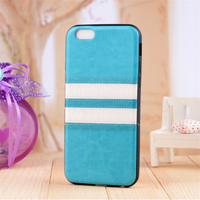 Double color leather cell phone case, leather phone case for iphone 5s covers
