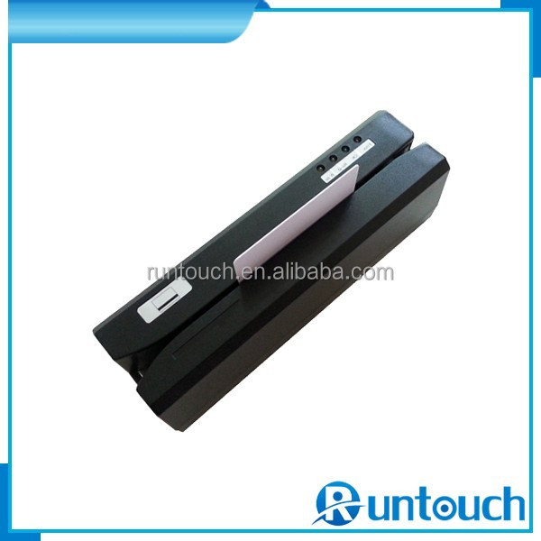 Runtouch RT-W123 MSR High/Low coercivity encoding circuitry selectable magnetic stripe card reader writer