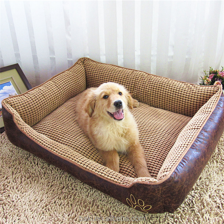 Wholesale Soft Pet Cat House PP Cotton Luxury Dog Bed