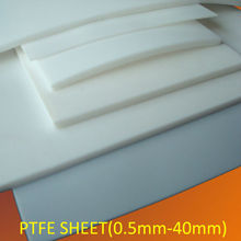 PTFE molded sheet / clear plastic board