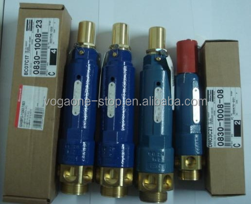 Atlas copco safety valve 0830100809 for Air Compressor Parts