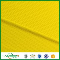 honeycomb/pique/interlock fabric,polyester weft knit fabric for upmarket garments/lining material