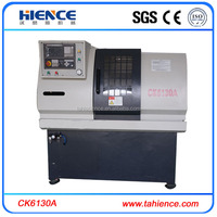 Flat bed portable lathe machine for sale CK6130A