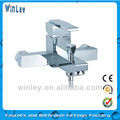single lever bathroom bath faucet/square bath tap