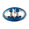 Wholesale types of men's belt buckles Bat logo metal belt buckle