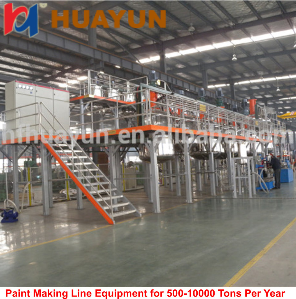 Paint,Ink,Glue Automatic Painting Production Line/paint making machine
