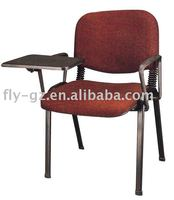 conference writing chairs/fabric writing chair/good training chair