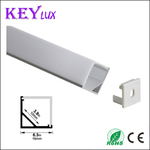 2years warranty led strip Aluminium Extrusion Profiles Fatory with square shaped pc cover