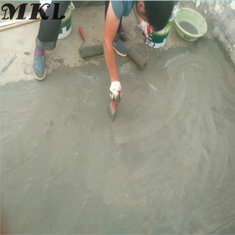 Two component js waterproof material for concrete roof