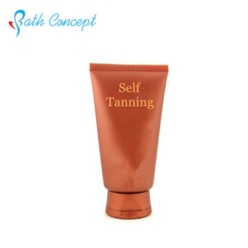 Sunless bronzer tanning cream body tanning lotion