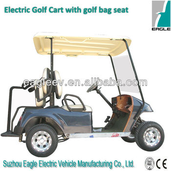 Electric Golf Carts, with rear golf bag seat, 2 seats, CE approved,EG2028T