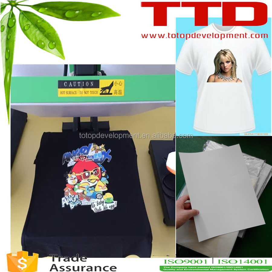 washable t-shirt transfer paper .Super Flexible,Easy Cut & Soft Stretch PU based Heat Transfer Paper Inkjet for cotton t-shirt