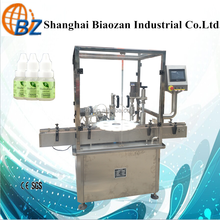 Automatic plastic bottle filling capping machine for eye drop